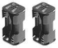 GSCI Quick-Swap Battery Holders for 4 AA Alkaline or Lithium batteries.