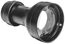 5x Afocal Lens GSCI SL-5. Quick-swap lens to enable longer-range viewing with compatible GSCI systems.