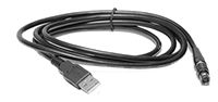 USB Power Cable to use with GSCI systems. Compatible with external USB power source for convenient on-the-go charging.